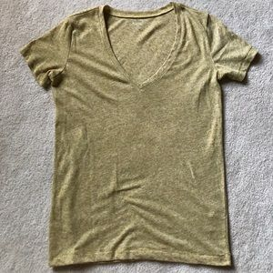 Madewell Hi-Line V neck T Shirt